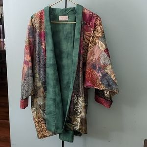 Handmade Batik fabric jacket